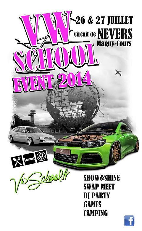 -- Vw SCHOOL EVENT 2014 - 26& 27 juillet -- Vw-events2014-pub-blanc-441e20a