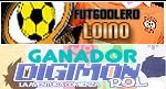 Futgoolero Loino y Ganador Rol Digimon